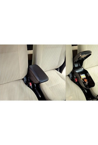 Autoen Fiat Linea 2007 Model Geniş Tip Sürgülü Kolçak Kol Dayama Delme Yok Siyah