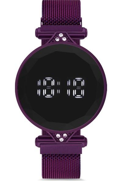 Spectrum UH1SP220086 Mıknatıslı Hasır Kordon Dijital Unisex Saat