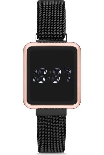 Spectrum UH1SP220095 Mıknatıslı Hasır Kordon Dijital Unisex Saat
