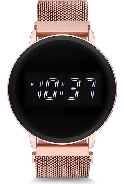 Spectrum UH1SP220099 Mıknatıslı Hasır Kordon Dijital Unisex Saat