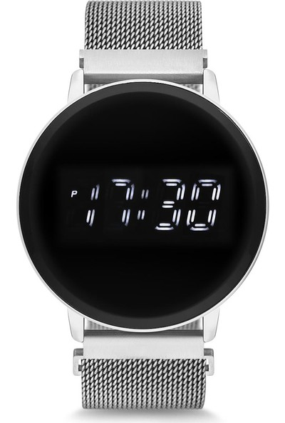 Spectrum UH1SP220102 Mıknatıslı Hasır Kordon Dijital Unisex Saat