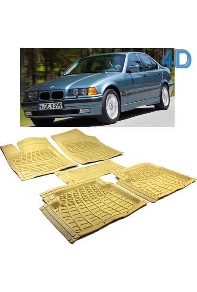 Autoen Bmw 3 Seri E36 1991 1998 Kesimli 4d Havuzlu Paspas Seti Bej