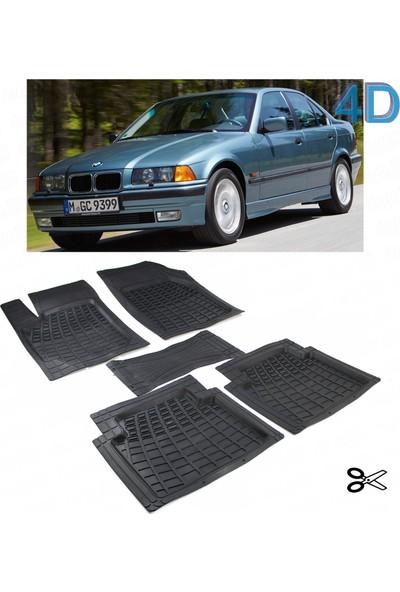 Autoen Bmw 3 Seri E36 1991 1998 Kesimli 4d Havuzlu Paspas Seti Siyah
