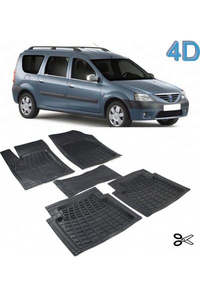 Autoen Dacia Logan Mcv Stw 2004 2012 Kesimli 4d Havuzlu Paspas Seti Siyah