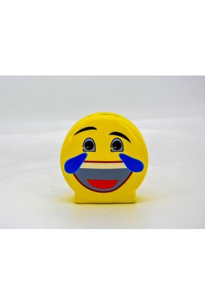 Ikbal Home Gülen Emoji Porselen Kumbara