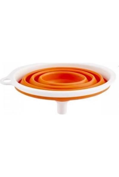 Qlux Karbonplast Çift Renkli Akordeon Huni - Double Color Accordion Funnel