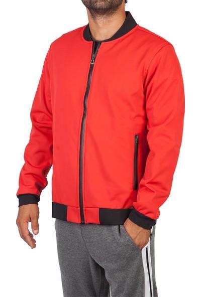 Exuma 291168 Erkek Kırmızı Softshell Mont
