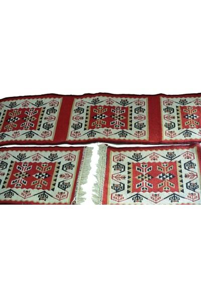 Başaran Tekstil Serme Oto Kılıfı Takımı - Antik Kilim Her Araca Uygun