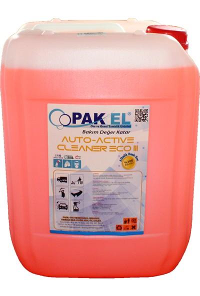 Pakel Auto Active Cleaner 25 Kg Fırçasız Yıkama