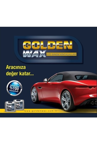 Goldenwax Su Ve Toz İtici Özellikli Koruyucu Jel Lastik Parlatıcı 500 Ml