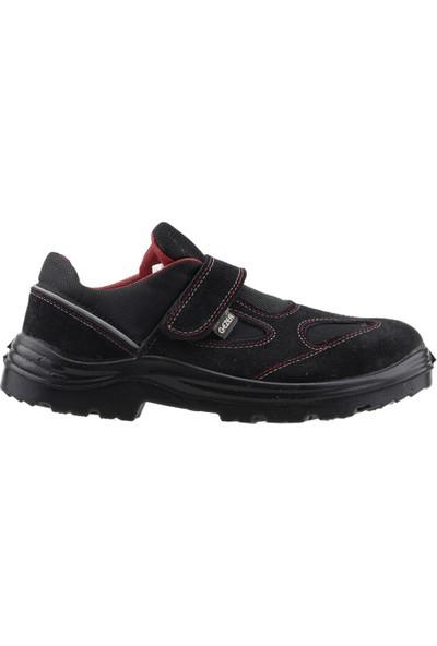 Gezer 1453 Çelik Burun Darbe Iş Güvenliği Erkek Ayakkabı Siyah