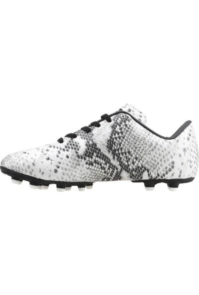 Lig Cobra Km Krampon Çim Saha Erkek Spor Futbol Ayakkabısı Beyaz
