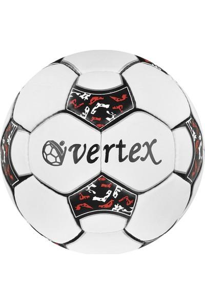 Vertex Prof Dikişli 4 No Futbol Topu Kırmızı