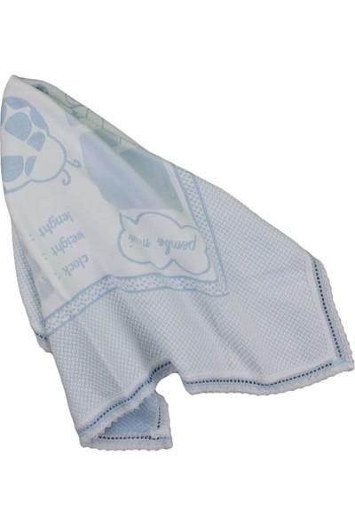 Pembe Mavi Anı Battaniyesi Mavi