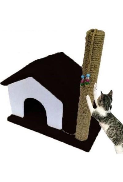 Usm Tırmalamalı Kedi Evi