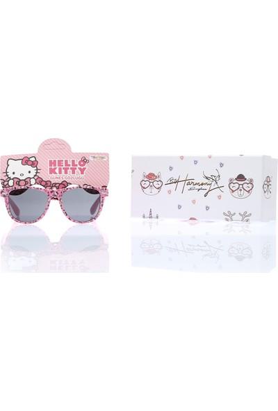 By Harmony Bh 19048 Lisanslı Disney Hello Kitty Kız Çocuk Güneş Gözlüğü