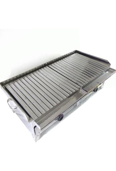 Yzc Çekmeceli Kömürlü 80 cm Çelik Mangal