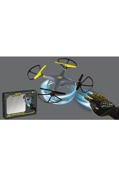 Funbox-W 606 4g Eldiven Sensörlü Kameralı Drone