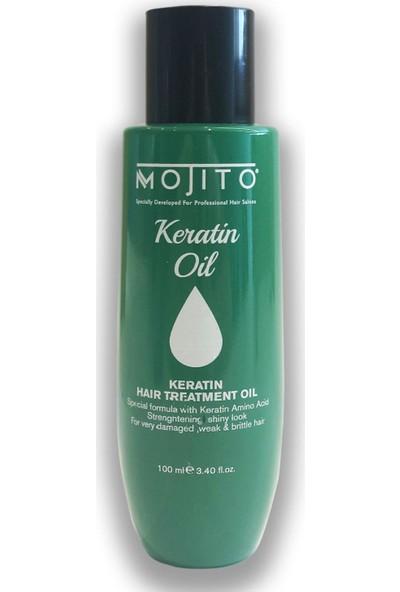 Mojito Keratin Oil Keratin Saç Bakım Yağı