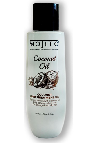 Mojito Coconut Oil Hindistan Cevizi Saç Bakım Yağı