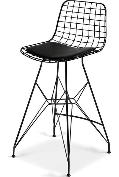Kenzlife Kafes Tel Bar Sandalyesi Zengin Syh 1 Li Ofis Cafe Bahçe Mutfak