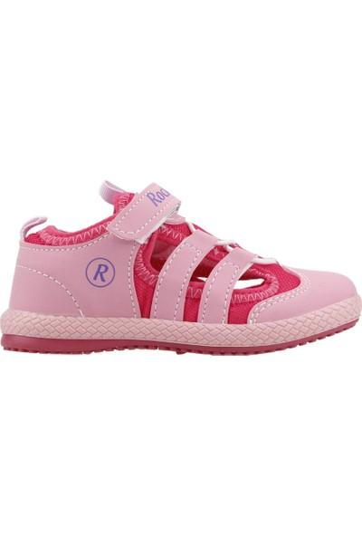 Kiko Kids Rocky Günlük Yürüyüş Koşu Kız Çocuk Spor Ayakkabı Pembe