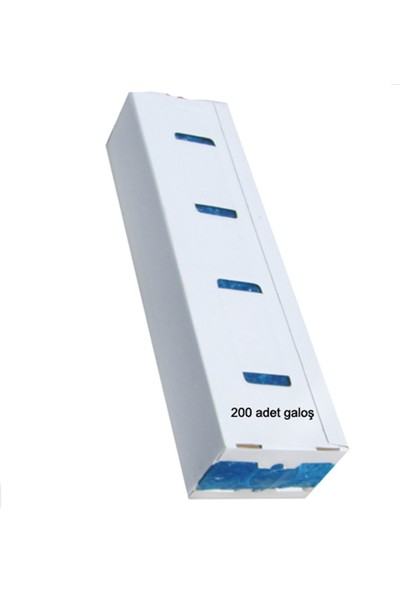 Galoşsan Elektrikli Galoşmatik Galoşu 200'lük Kartuş 4200 Adet