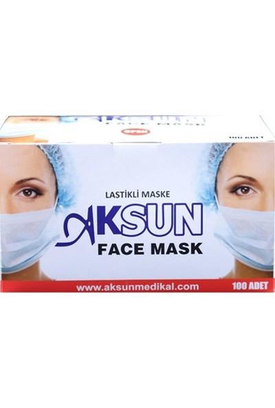 Galoşsan Tek Kullanımlık Ağız Maskesi - Cerrahi Maske 100 Adet