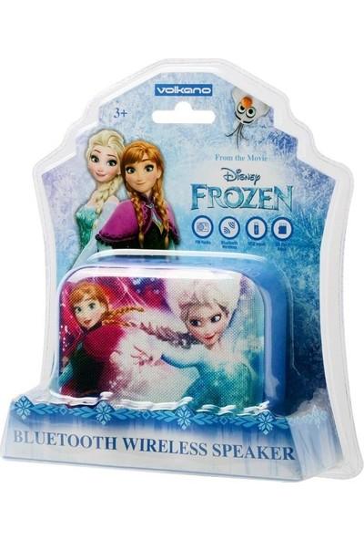 Volkano Disney Frozen Karlar Ülkesi Bluetooth Kablosuz Hoparlör Anna Elsa Lisanslı DY-1010-FR