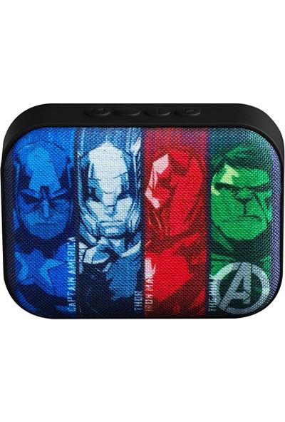 Volkano Marvel Avengers Bluetooth Kablosuz Hoparlör Lisanslı MV-1010-AV