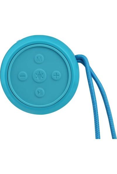 Volkano Disney Frozen Karlar Ülkesi Bluetooth Kablosuz Hoparlör Lisanslı Radyolu USBli Işıklı DY-1012-FR
