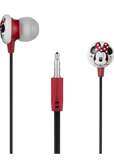 Volkano Disney Minnie Mouse Mini Fare Kulakiçi Kulaklık Çantalı Lisanslı DY-1008-MM