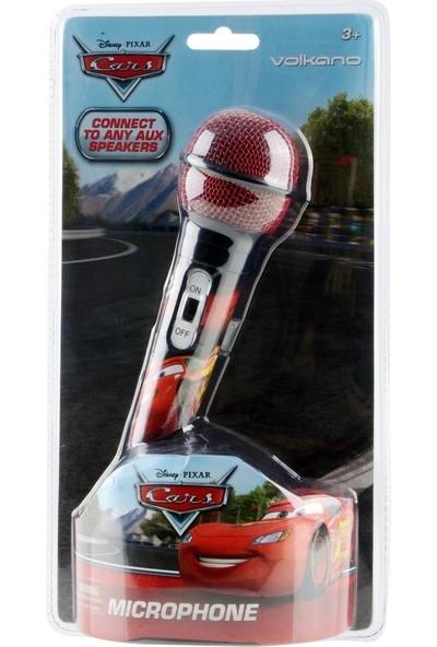 Volkano Disney Pixar Cars Arabalar Lisanslı Mikrofon DY-11201-CR
