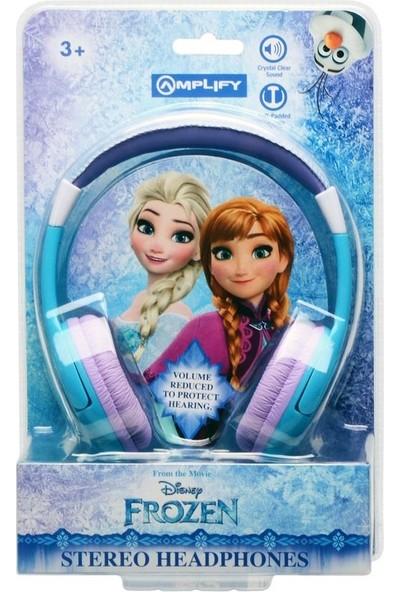 Amplify Disney Frozen Karlar Ülkesi Anna Elsa Çocuk Kulaklığı Lisanslı DY-1001-AFR