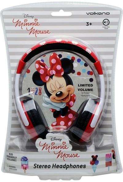 Volkano Disney Minnie Mouse Mini Fare Çocuk Kulaklığı Lisanslı DY-13301-MM