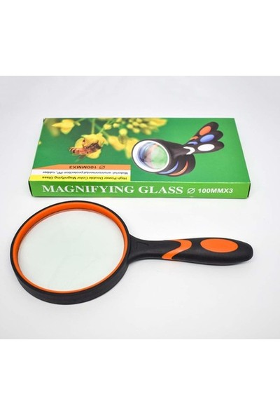 Baosity High Power Double Color Magnifying Glass100Mmx3