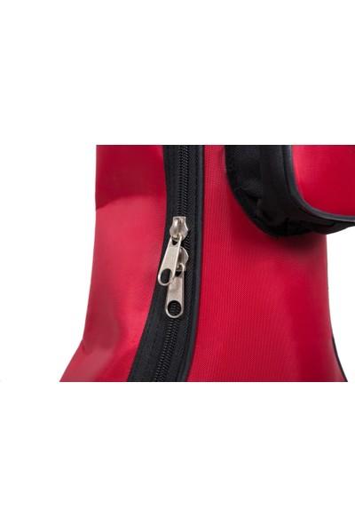 Donizetti Yüksek Korumalı Klasik Gitar Kılıfı Çanta Gigbag Kırmızı