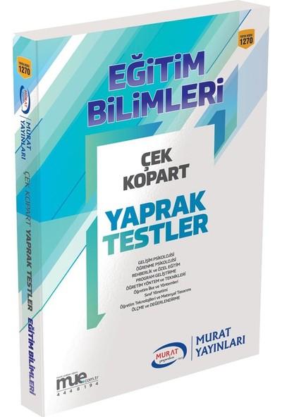 KPSS Çek Kopart Yaprak Test Eğitim Bilimleri