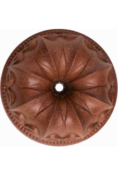 New Wave Lily Döküm Copper Stone Kek Kalıbı