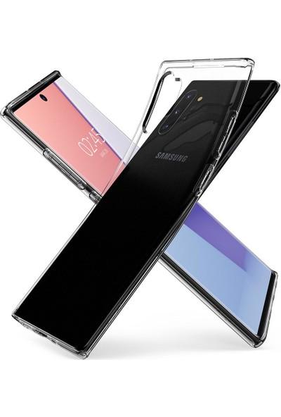 Spigen Samsung Galaxy Note 10 Plus Kılıf Liquid Crystal Clear 4 Tarafı Tam Koruma - 627CS27327