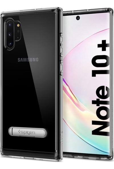 Spigen Ultra Hybrid S Designed for Samsung Galaxy Note 10 Plus (2019) Kılıf Crystal Clear - 627CS27334