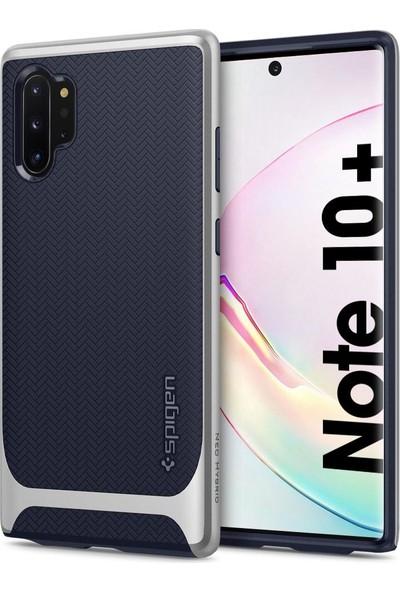 Spigen Neo Hybrid Designed for Samsung Galaxy Note 10 Plus (2019) Kılıf Arctic Silver - 627CS27341