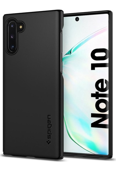 Spigen Thin Fit Designed for Samsung Galaxy Note 10 (2019) Kılıf Black - 628CS27368