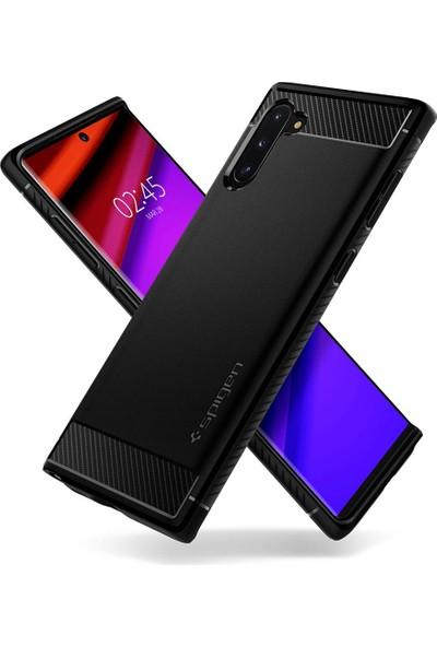 Spigen Samsung Galaxy Note 10 Kılıf Rugged Armor Black - 628CS27374