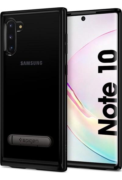 Spigen Ultra Hybrid S Designed for Samsung Galaxy Note 10 (2019) Kılıf Midnight Black - 628CS27378