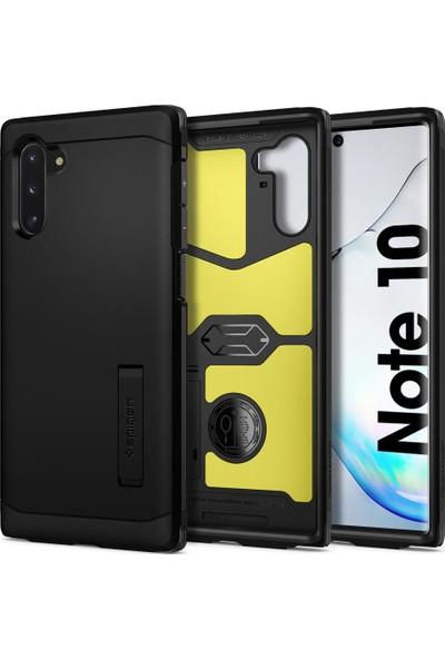 Spigen Tough Armor Designed for Samsung Galaxy Note 10 (2019) Kılıf Black - 628CS27380