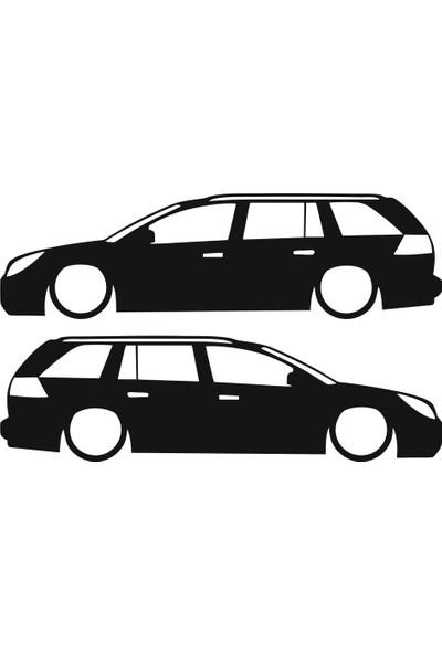 Hediyelikevi Opel Vectra Basık Arac Sticker