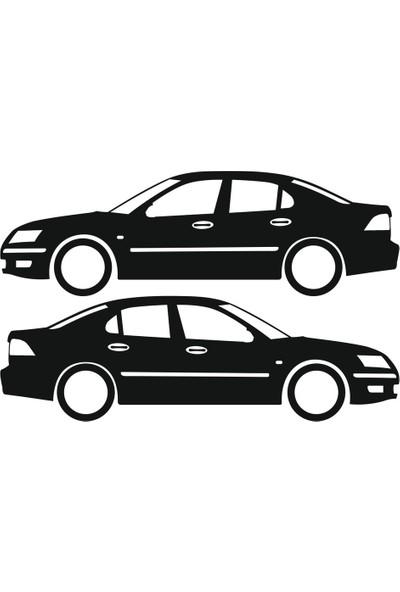 Hediyelikevi Saab 9-3 Basık Arac Sticker