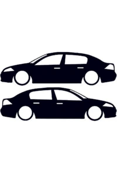 Hediyelikevi Renault Megane 2 Basık Arac Sticker