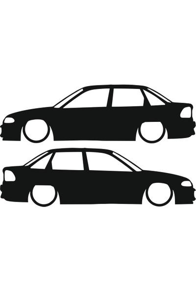 Hediyelikevi Opel Astra 2 Basık Arac Sticker